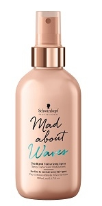 Mad About Curls & Waves Schwarzkopf Professional Mad About Waves Sea Blend Texturizing Spray 200 ml