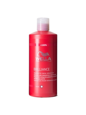 Wella Professionals Brilliance Shampoo Coarse 500 ml