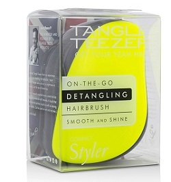 Tangle Teezer Compact Styler Lemon Zest Hairbrush