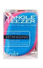 Tangle Teezer Compact Block Colours Bright Hairbrush