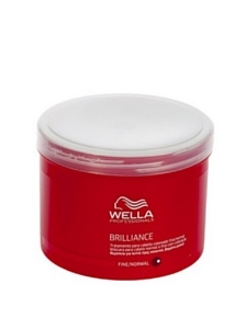 Wella Professionals Brilliance Mask Fine / Normal 500 ml