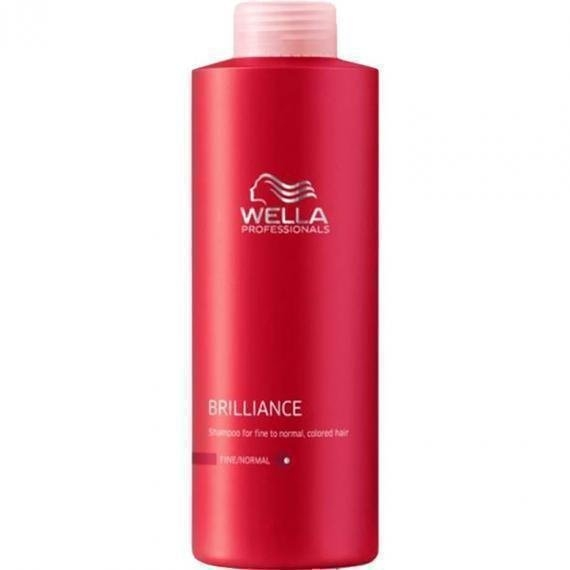 Wella Professionals Brilliance Shampoo Fine / Normal 1000 ml