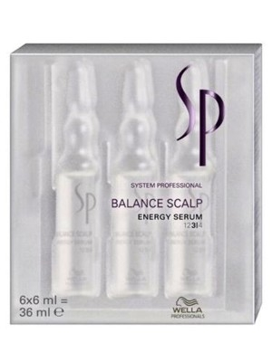 Wella SP Balance Scalp Energy Serum 6 x 6 ml