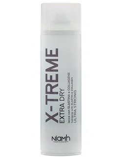 Akcia NiaMh HairKoncept X-Treme Extra Dry Hairspray Elastin Strong 500 ml